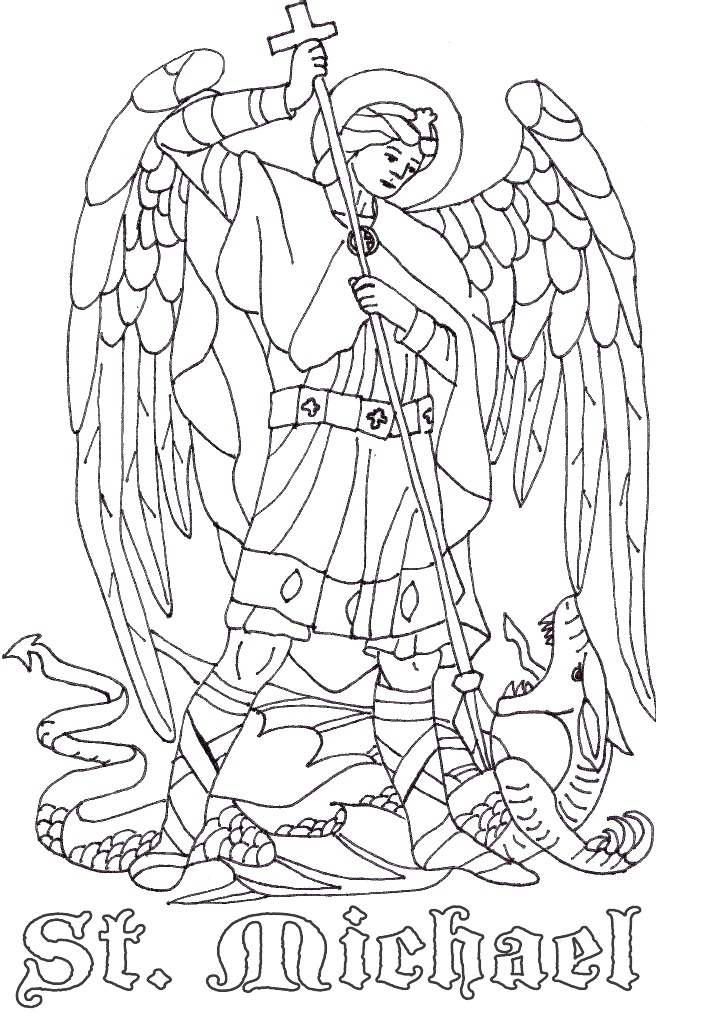 holy archangels clipart to color 20 free Cliparts