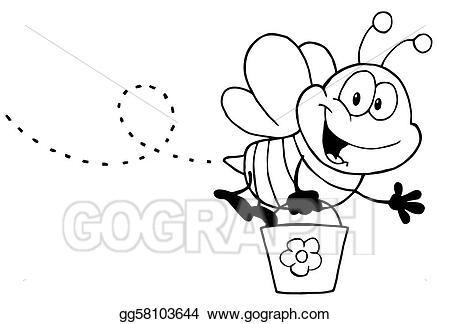 honey bee black and white clipart 10 free Cliparts