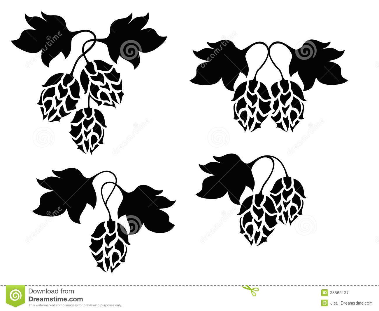 Hop Vines Clipart