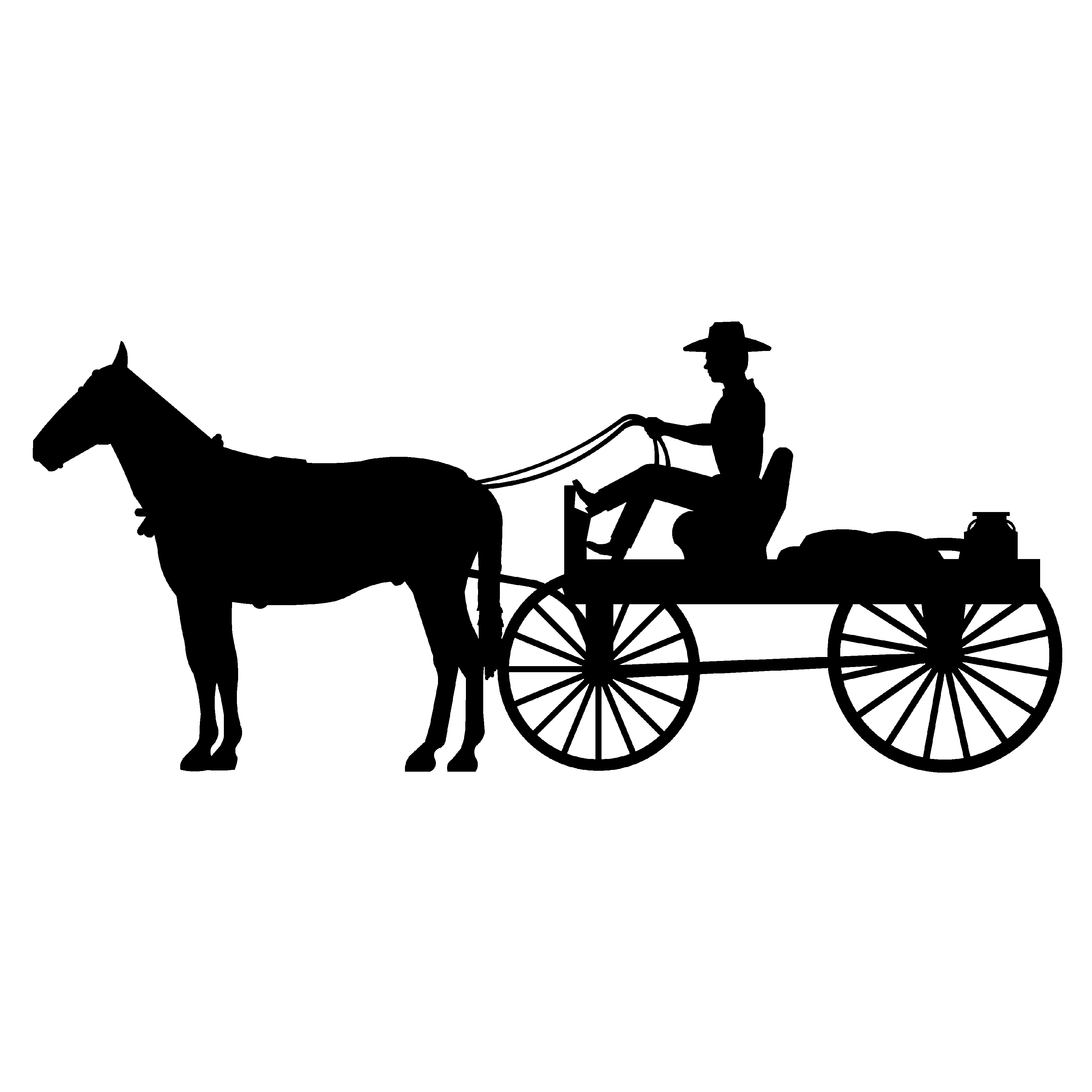 Horse And Cart Clipart 20 Free Cliparts