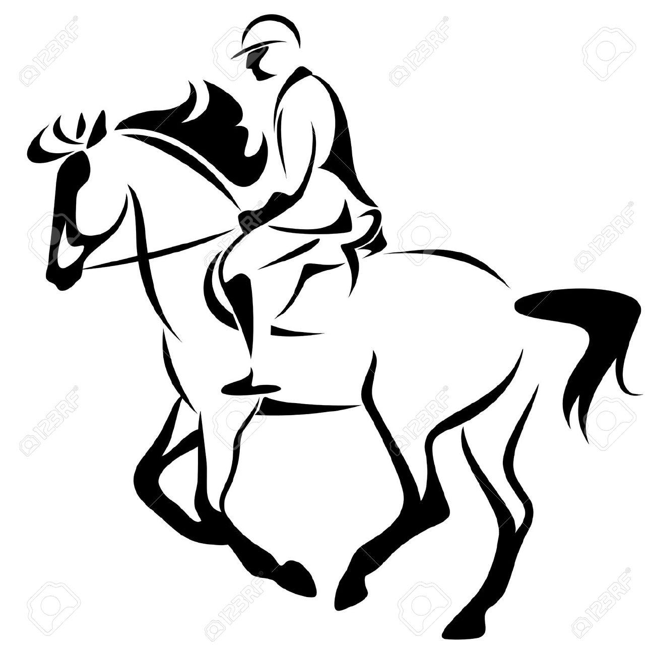Horseback Riding Santa Claus