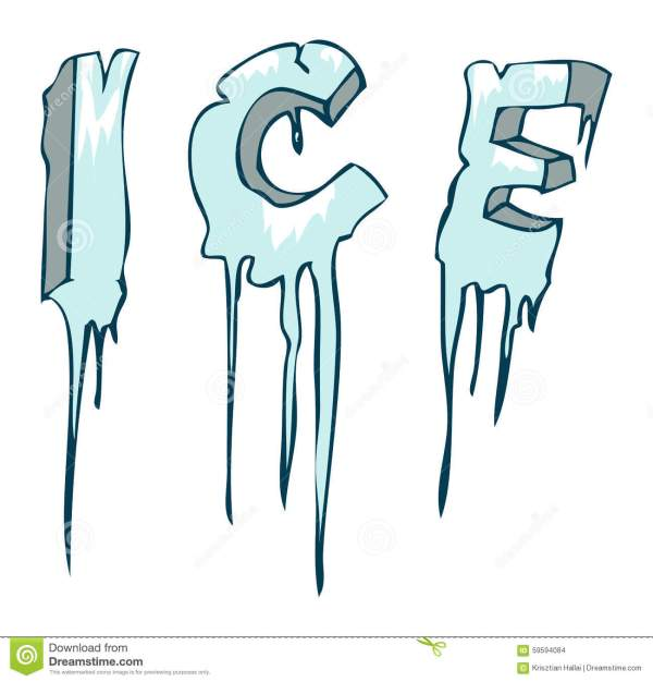 Ice frozen clipart Clipground