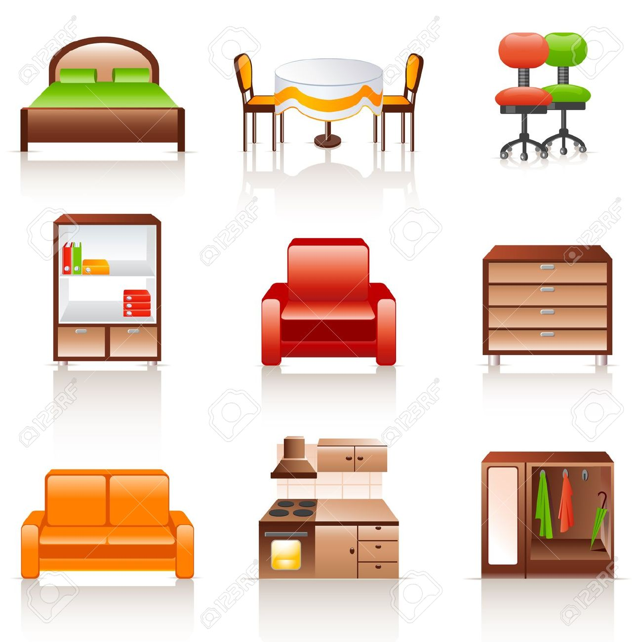 hight resolution of bedroom furniture clipart