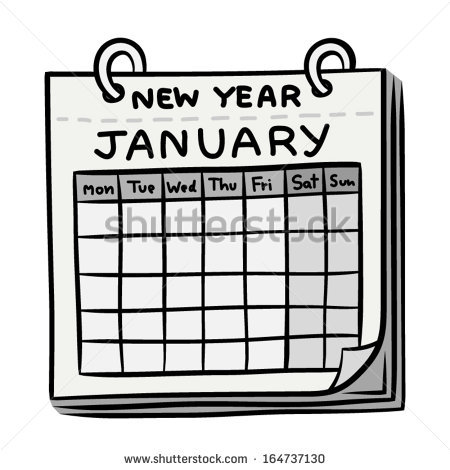 january calendar clipart black and white 20 free Cliparts