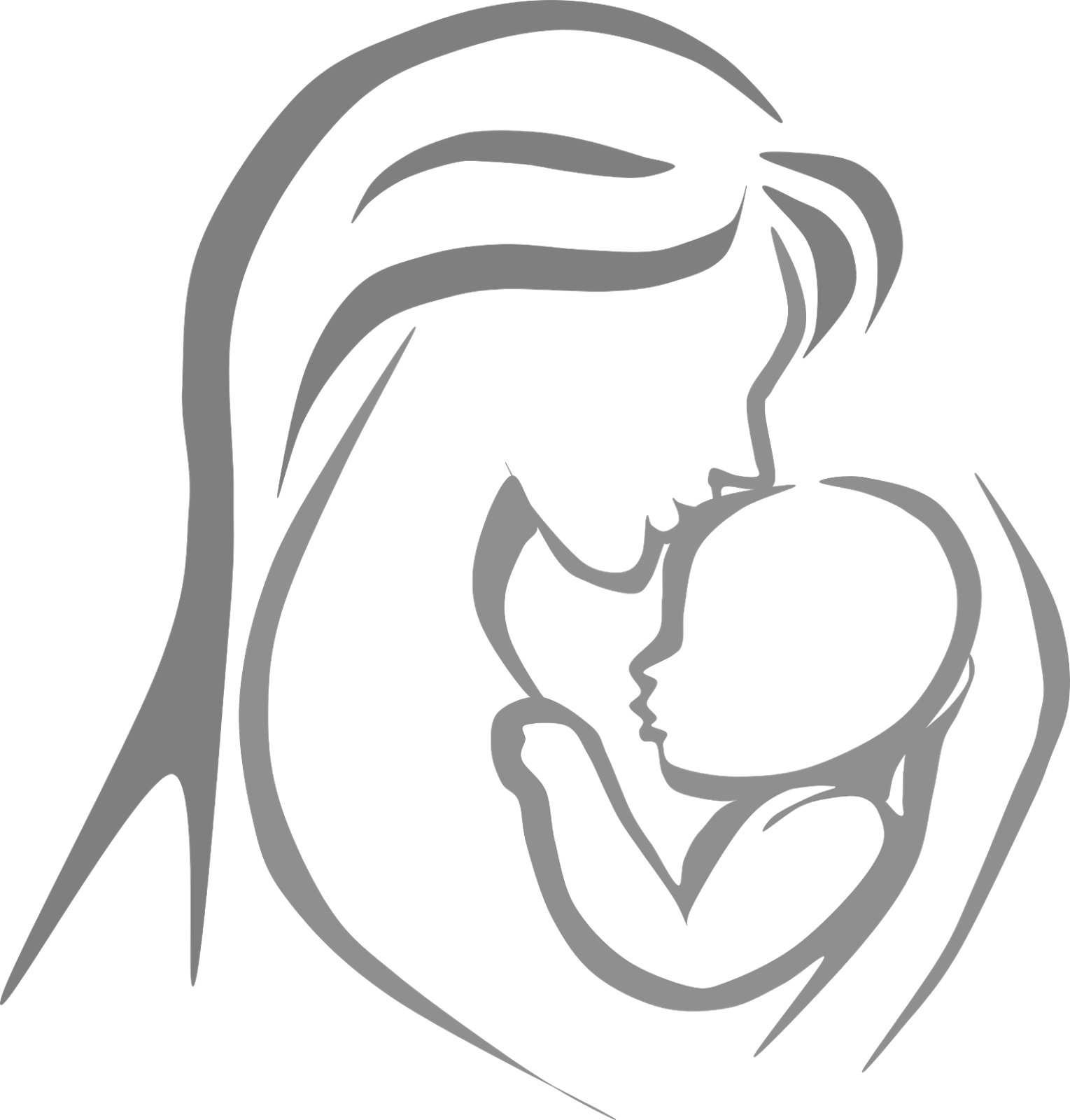 Mother and child clipart  Clipground