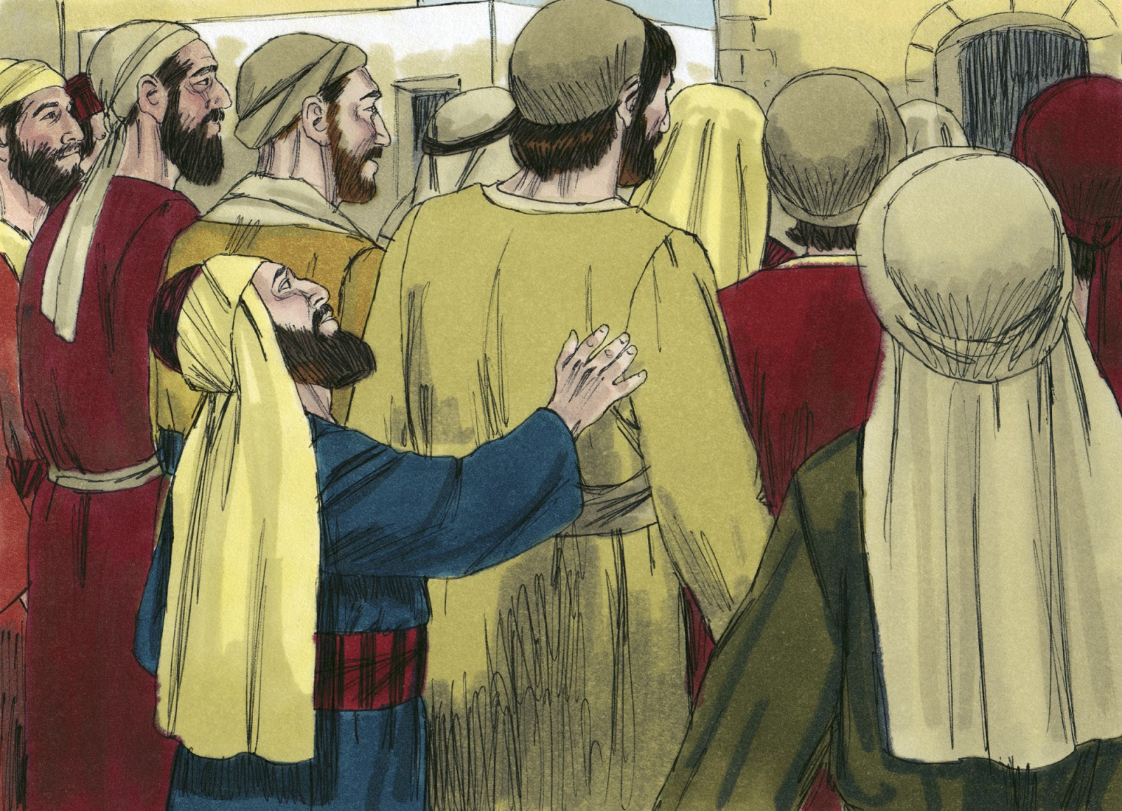 Jesus Zacchaeus Clipart