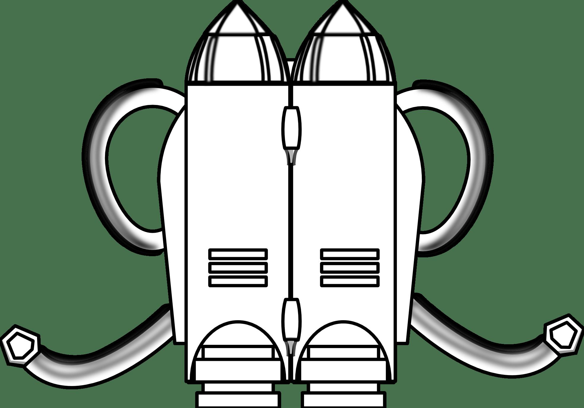 Jetpack Clipart