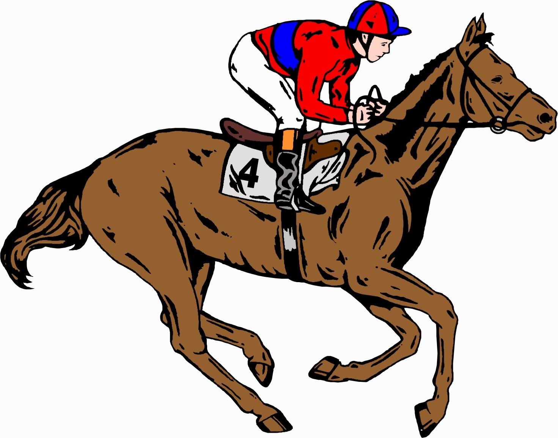 hight resolution of horse jockey clipart