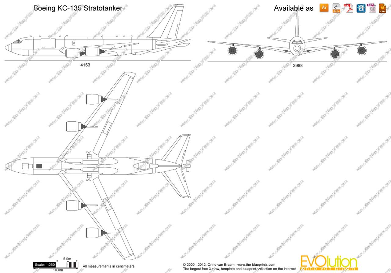 Kc 135 Stratotanker Clipart