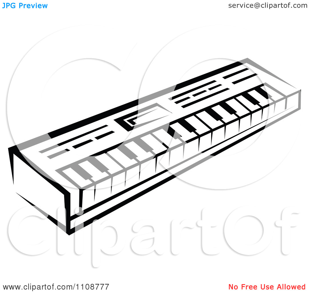 Keyboard Instrument Clipart