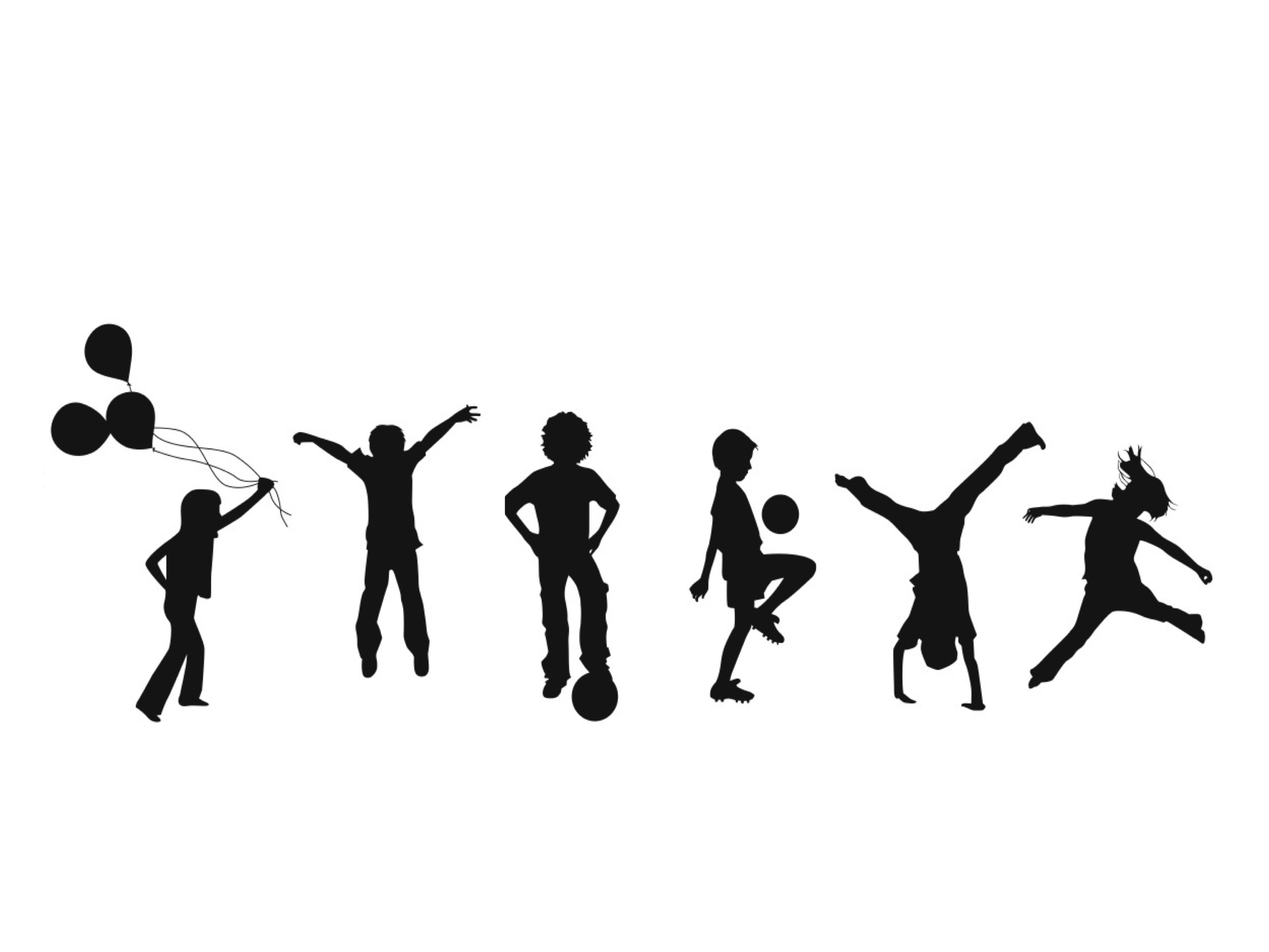 Kids Clipart Silhouette