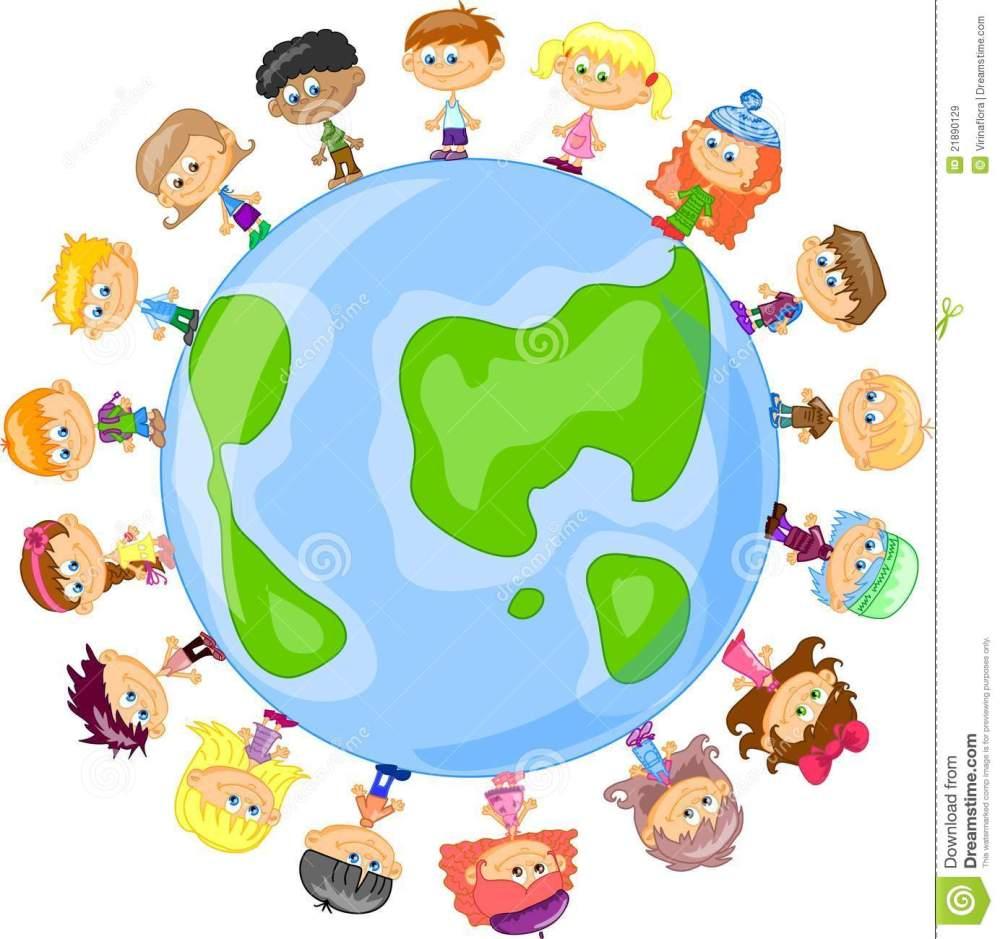 medium resolution of cartoon cute children holding hands vector royalty free stock