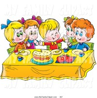 kids table clipart - Clipground