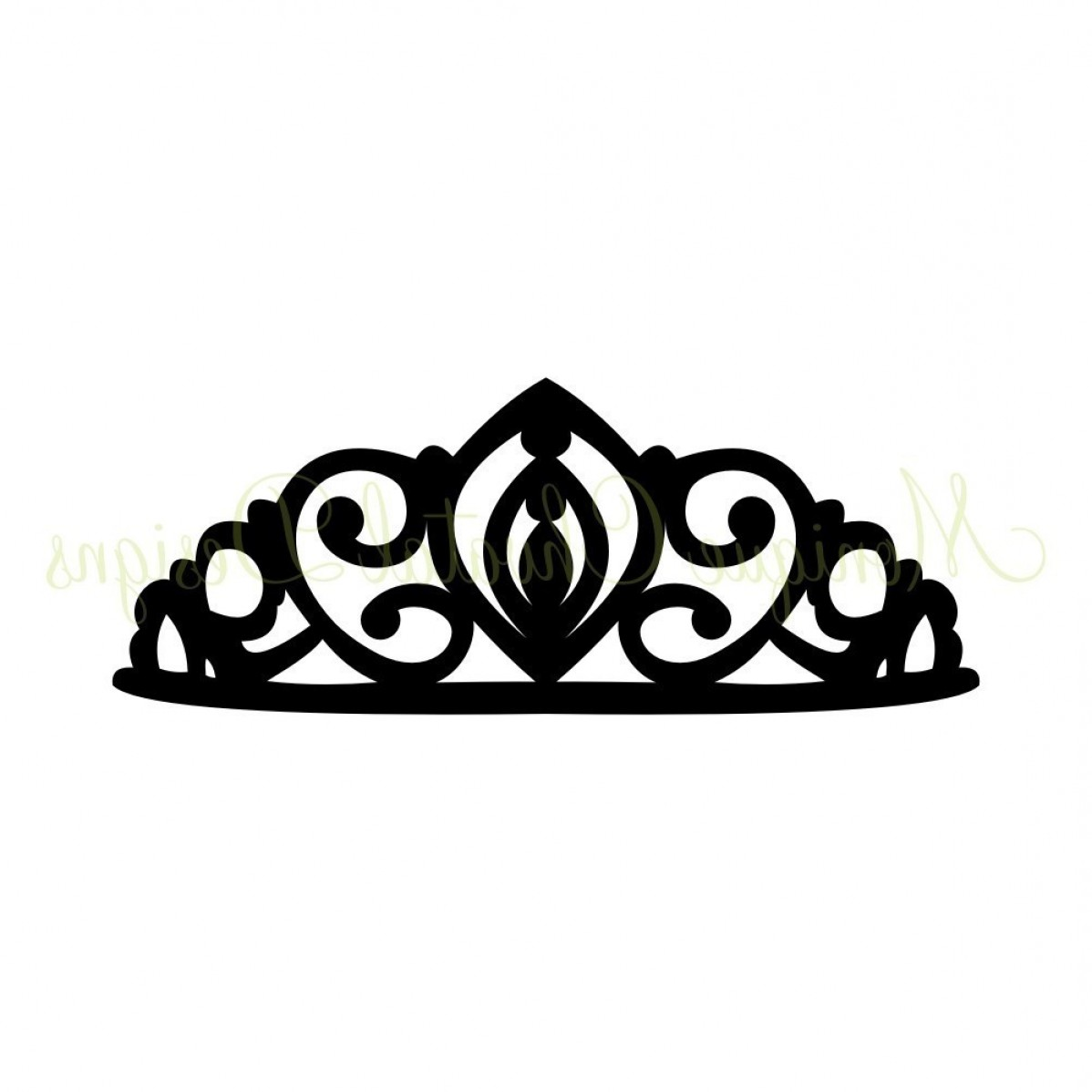 King And Queen Crowns Together Clipart