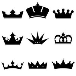 crown clipart king korona czarna icons ikony vector krone stellen ein sie eingestellt kronen icon grafika ilustracja stockowa clipground ikonen