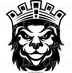 crown king clipart kings lion clip silhouette designs head face royalty graphics lions clipartmag 20clipart 20black 20and 20white clipground royal