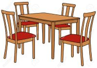 kitchen table clipart - Clipground