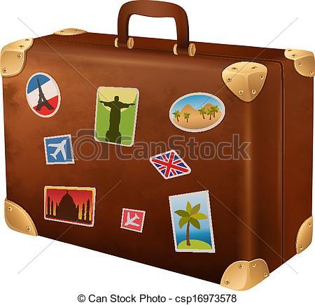 Reisekoffer Malvorlage