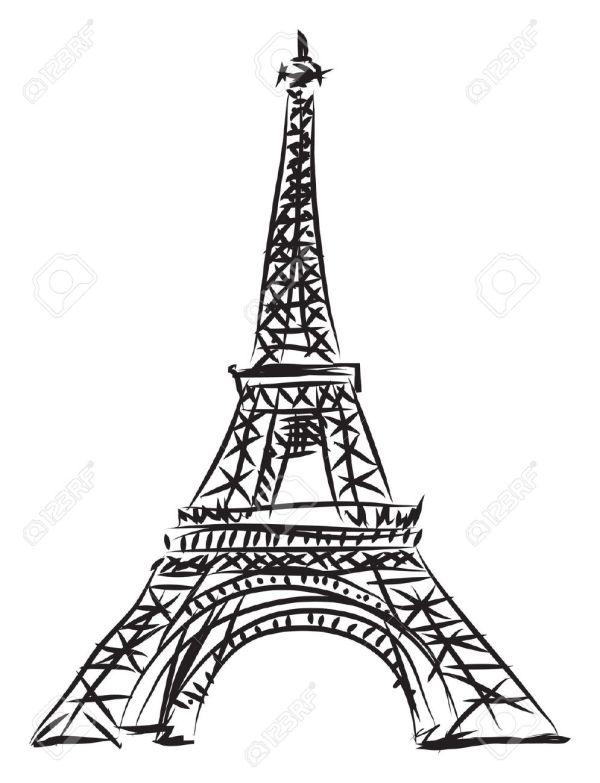 La Tour Eiffel Clipart - Clipground