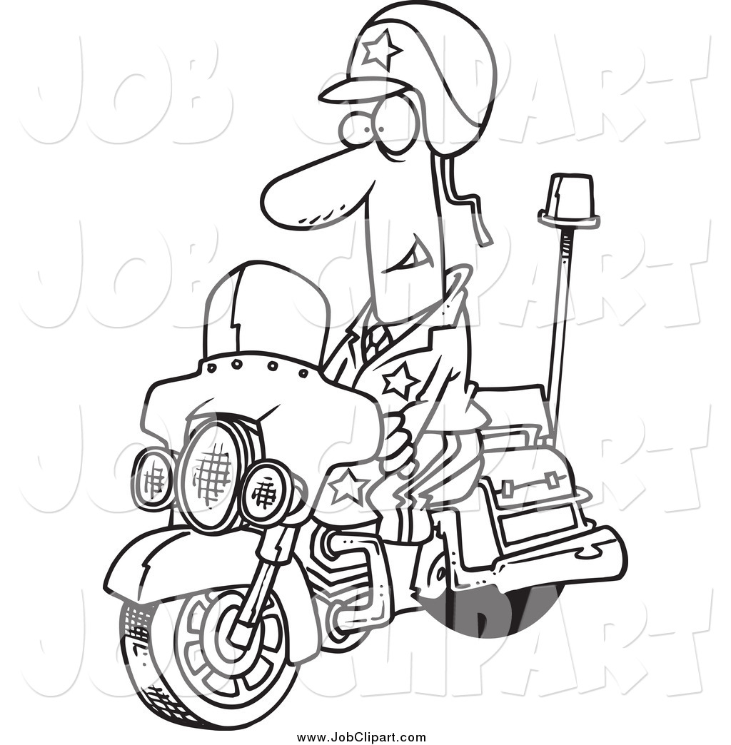 Law Enforcement And Fire Department Job Clipart