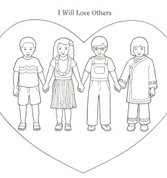 lds clipart love our neighbor  [ 1600 x 1366 Pixel ]
