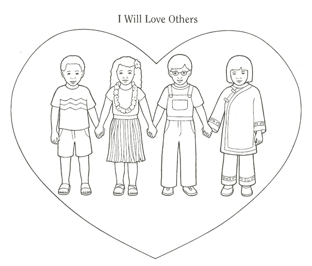 medium resolution of lds clipart love our neighbor