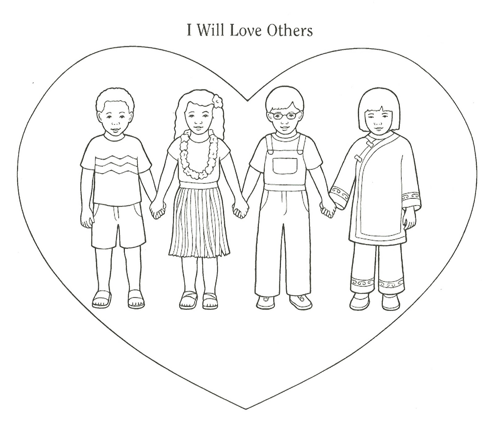 hight resolution of lds clipart love our neighbor