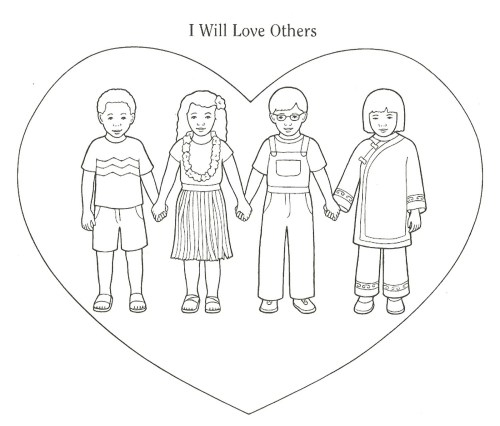 small resolution of lds clipart love our neighbor