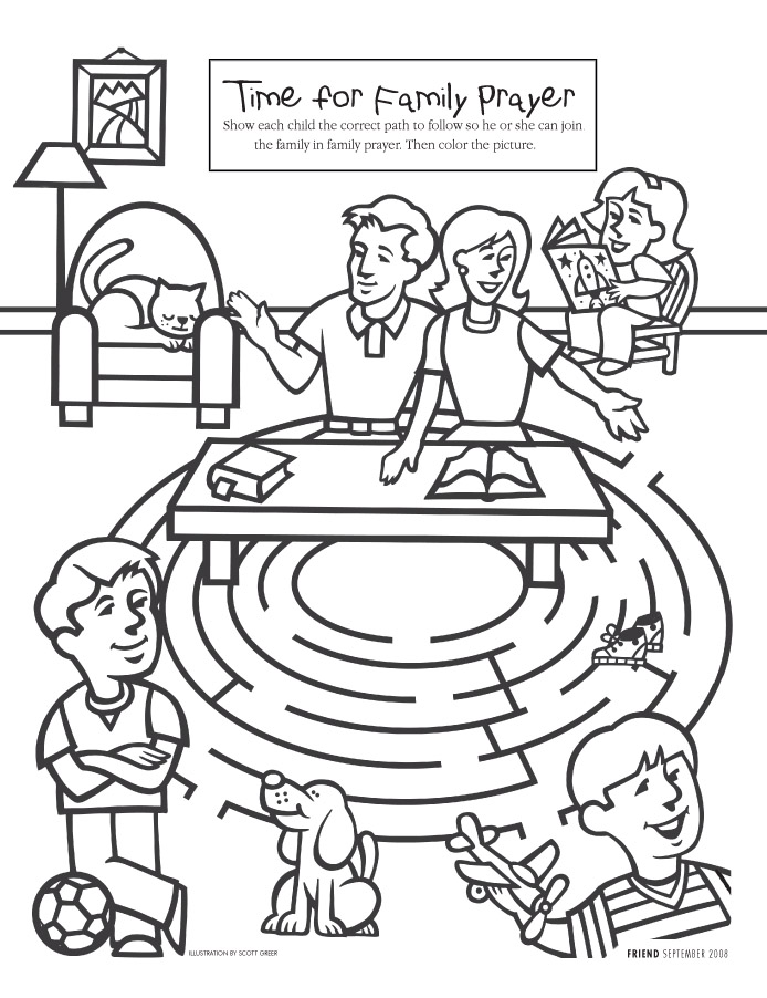 lds primary missionary clipart color by numbers 20 free