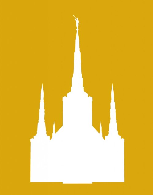 small resolution of salt lake temple silhouette