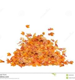 fall leaf pile clipart  [ 1300 x 1019 Pixel ]
