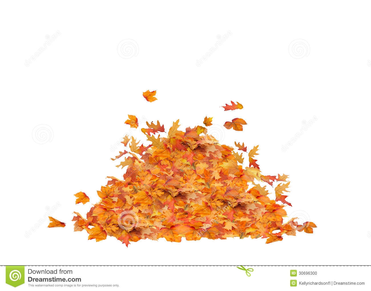hight resolution of fall leaf pile clipart
