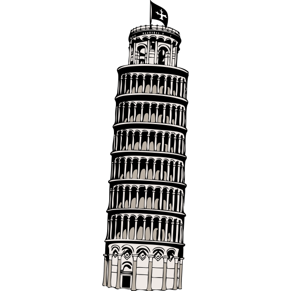 Leaning Tower Of Pisa Clipart - Clipground