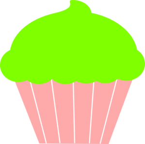 light pink cupcake clipart - clipground