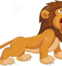 cartoon lion roaring royalty free cliparts vectors and stock  [ 1300 x 803 Pixel ]