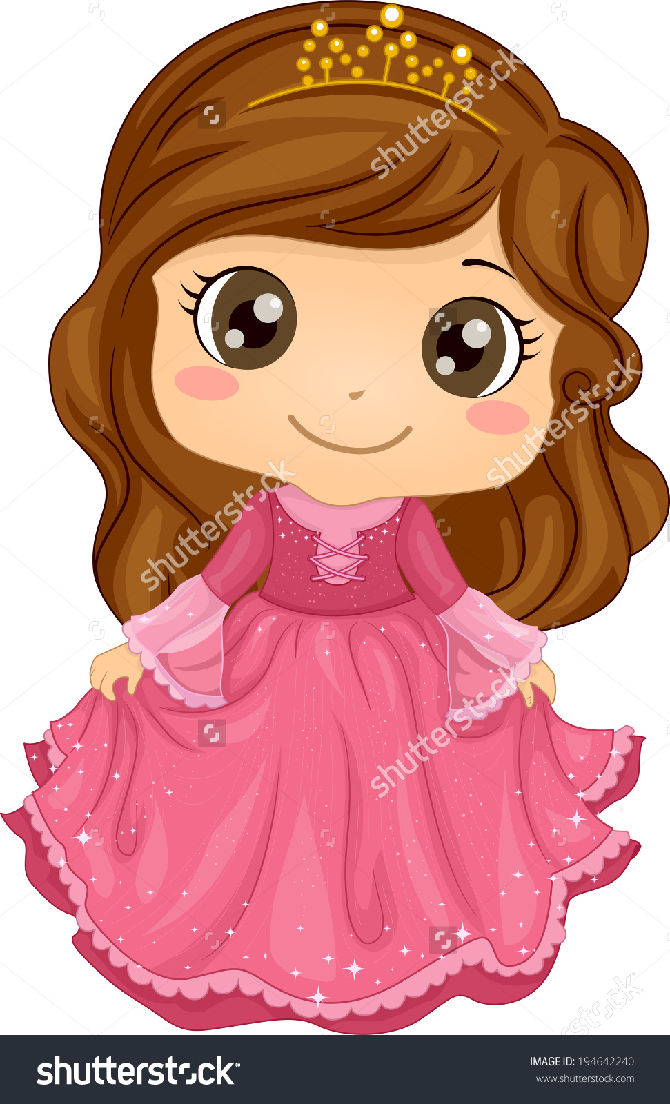 hight resolution of showing post media for cartoon little girl princess