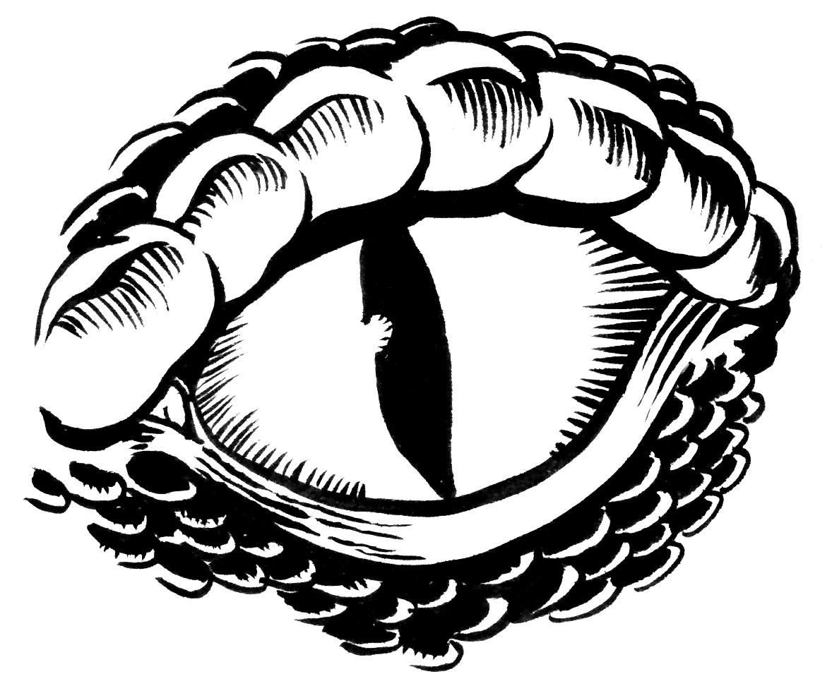 hight resolution of monster eye clipart