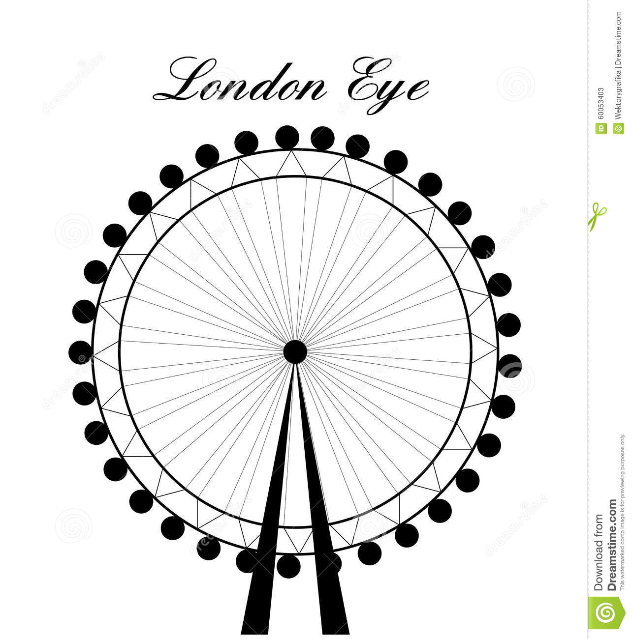 The London Eye Clipart 20 Free Cliparts
