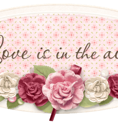love is in the air label png clipart picture  [ 1404 x 684 Pixel ]