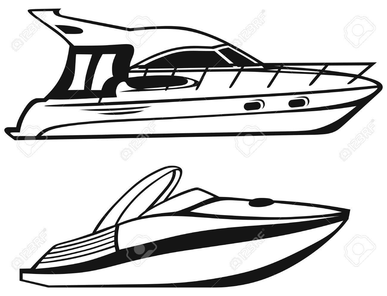 Yacht Trip Clipart