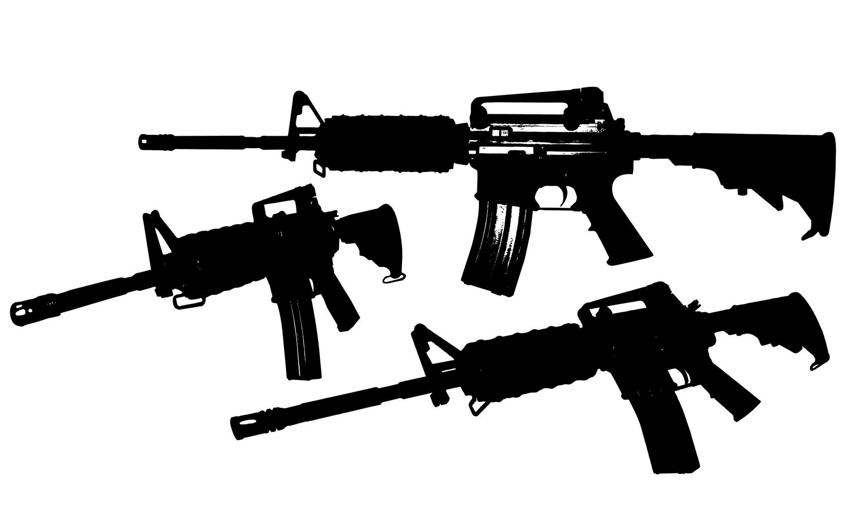 M4 Carbine Clipart