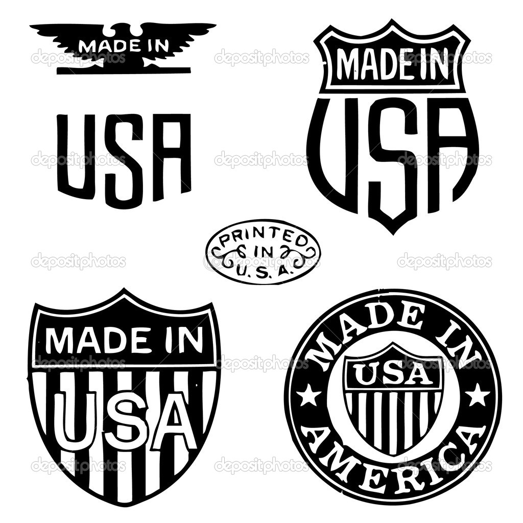 Made In The Usa Clipart