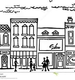 small town main street [ 1300 x 923 Pixel ]