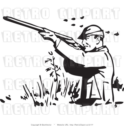 small resolution of man hunt clipart