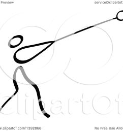 clipart of a black and white track and field stick man athlete  [ 1080 x 1024 Pixel ]