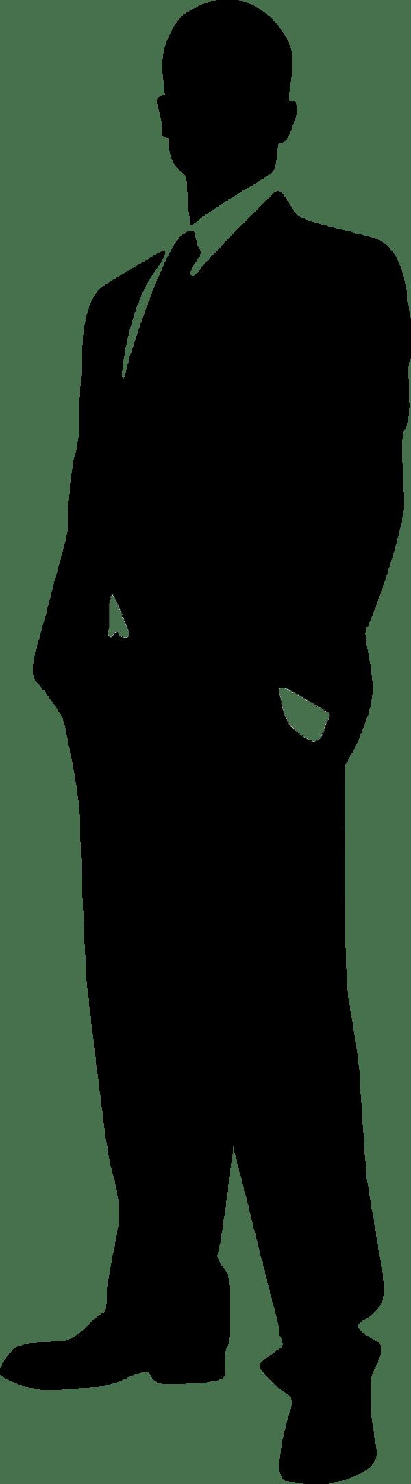 male silhouette clipart - clipground