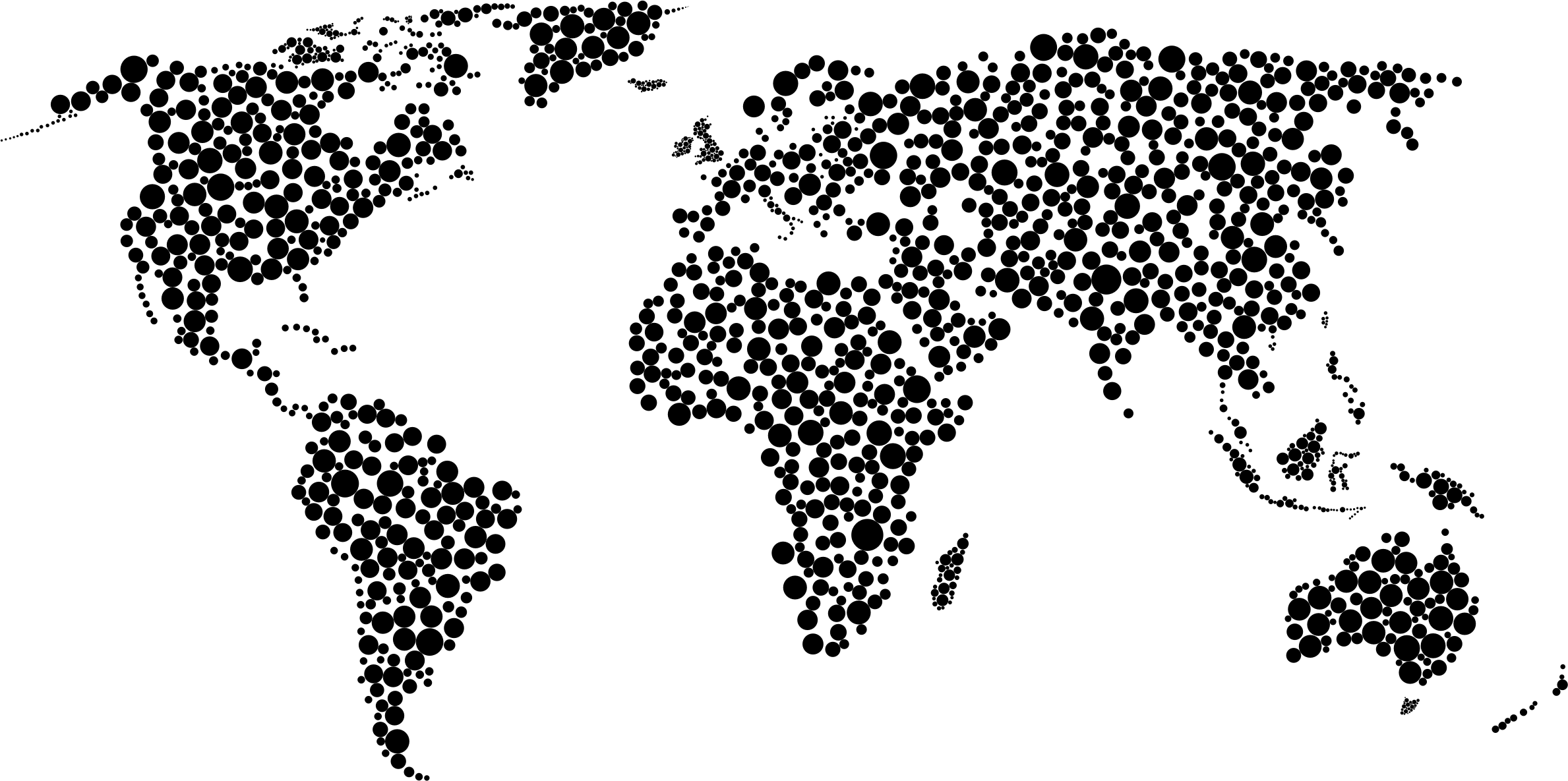 Map Of The World Clipart