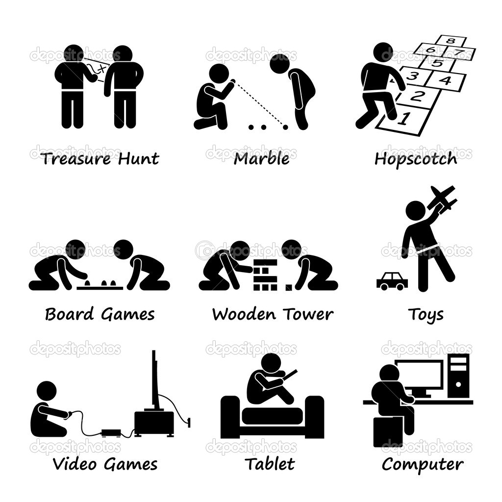 Game Figure Clipart