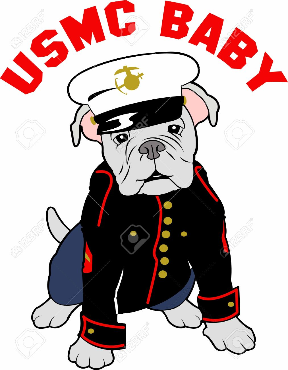 hight resolution of showing post media for marine corps mascot cartoon