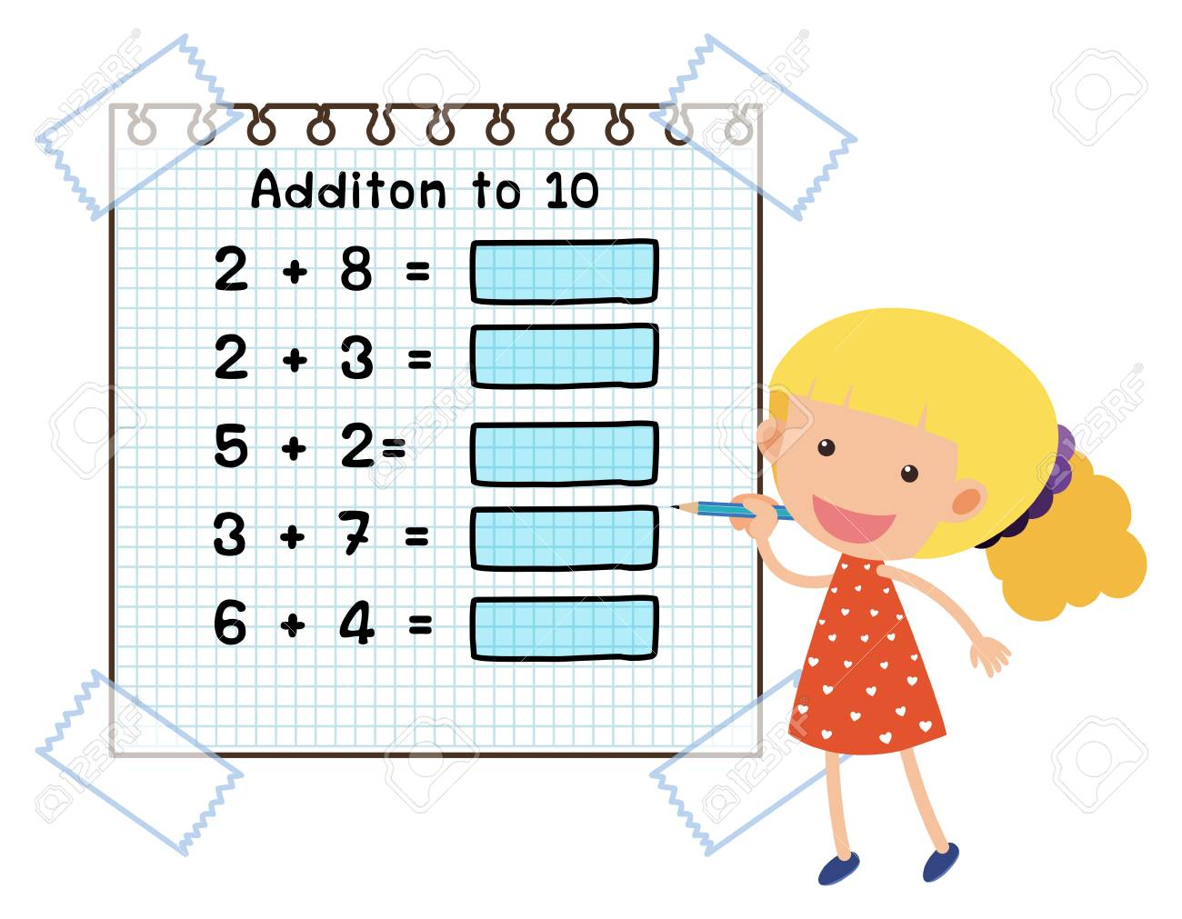Math Worksheet Clipart 10 Free Cliparts